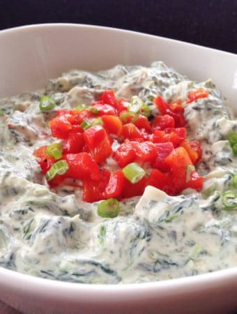 Loaded Spinach Dip